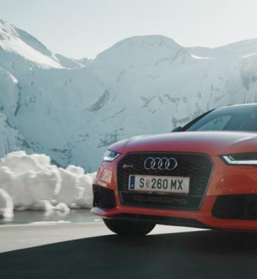 Marcel Hirscher x Audi RS6+