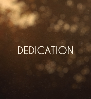 DEDICATION [2012]